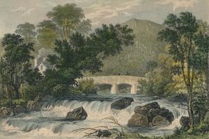 Shaugh Bridge, Bickleigh Vale, Devonshire, 1829 by MJ Starling
