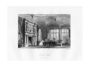The Drawing-Room, Loseley Hall, Guildford, 19th Century by MJ Starling