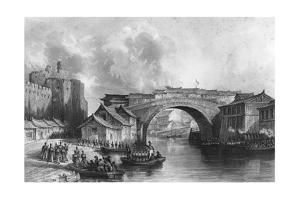 West Gate of Ching-Keang-Foo (Zhenjian), China, 21 July 1842 by MJ Starling