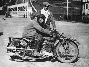 MK1 Brough Superior 1000cc Motorbike, (Early 1920S)