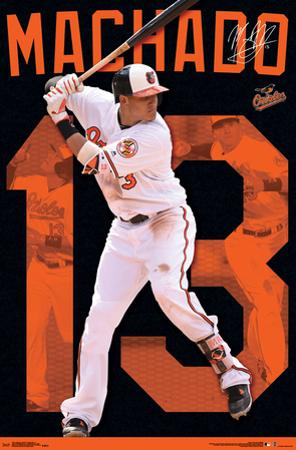 MLB: Baltimore Orioles- Manny Machado
