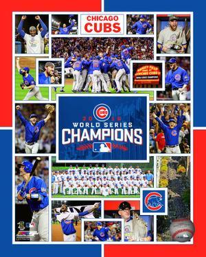 MLB: Chicago Cubs 2016 World Series Champions Composite
