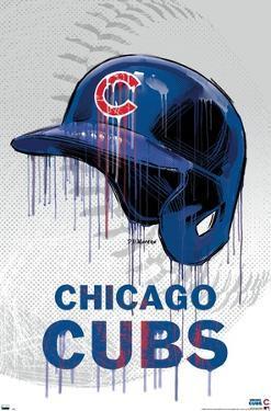 MLB Chicago Cubs - Drip Helmet 20