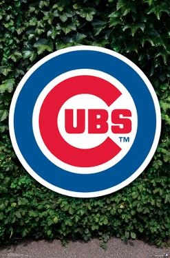 MLB: Chicago Cubs- Ivy Logo