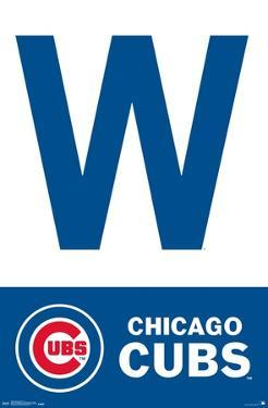 MLB: Chicago Cubs- Win Flag