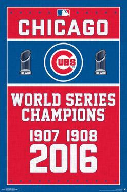 MLB: Chicago Cubs- World Series Tribute 2016