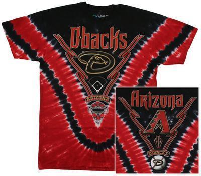 MLB - Diamondbacks Tie Dye Logo