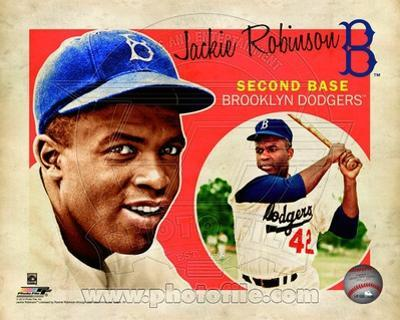 MLB Jackie Robinson 2012 Studio Plus
