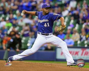 MLB: Junior Guerra 2016 Action
