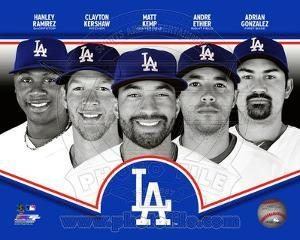 MLB Los Angeles Dodgers 2013 Team Composite