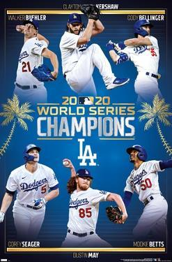 MLB Los Angeles Dodgers - 2020 World Series Champions