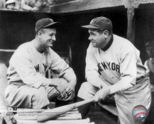 MLB Lou Gehrig & Babe Ruth