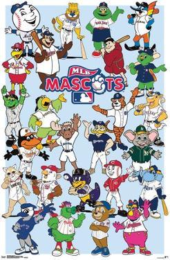 Mlb - Mascots 17