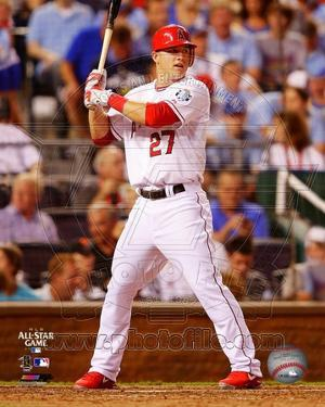 MLB Mike Trout 2012 MLB All-Star Game Action