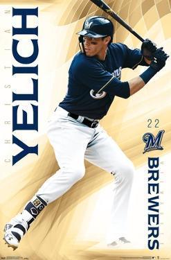 MLB Milwaukee Brewers - Christian Yelich 19