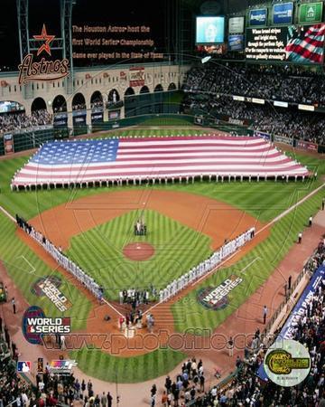 MLB Minutre Maid Park - 2005 World Series