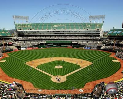 MLB O.co Coliseum 2012