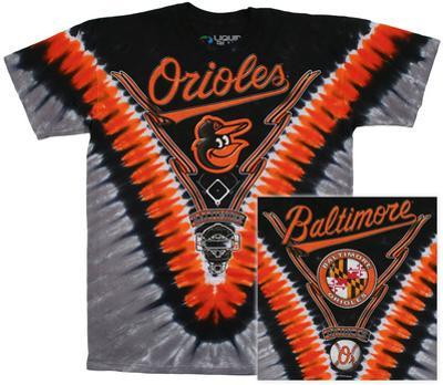 MLB - Orioles  Tie Dye Logo