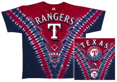 MLB: Rangers V-Dye