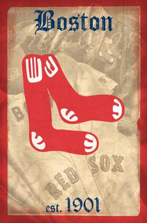 MLB: Red Sox- 1901 Retro Logo