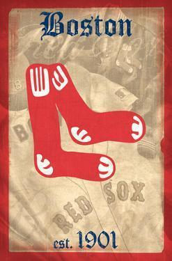 MLB: Red Sox- 1901 Retro Logo