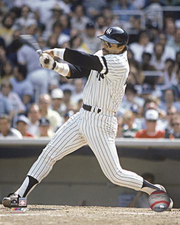 MLB Reggie Jackson - Batting Action