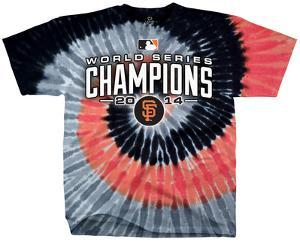 MLB: San Francisco Giants - 2014 World Series Champions Spiral Dye