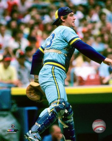 MLB: Ted Simmons 1982 Action