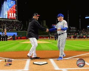 MLB: Terry Francona & Joe Maddon Game 1 of the 2016 World Series