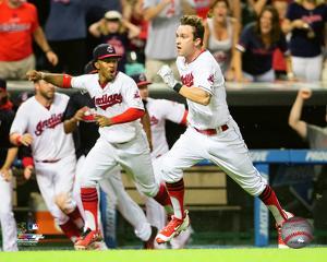 MLB: Tyler Naquin 2016 Action
