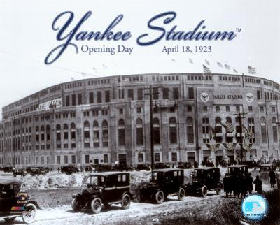 MLB Yankee Stadium - 1923 Opening Day