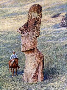 Moai Statues, Easter Island, Chile, 1933-1934
