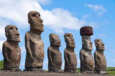 Moais Tongariki Easter Island