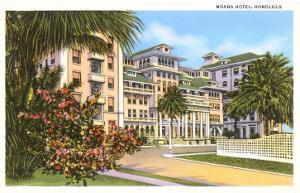 Moana Hotel, Honolulu, Hawaii