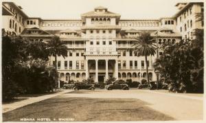 Moana Hotel, Waikiki, Hawaii