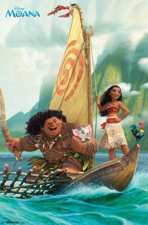 Moana- Sailing Along