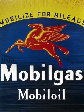 Mobil Advertisement, 1935