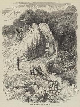 Mode of Travelling in Nepaul