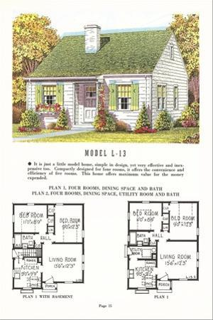 Model House and Floor Plan