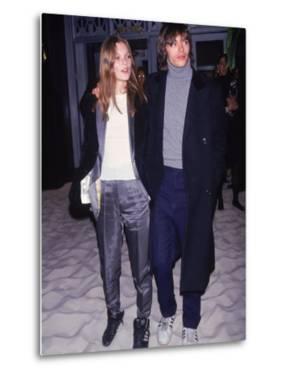 Model Kate Moss and Boyfriend, Photographer Mario Sorrenti