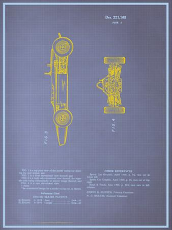 Model Racing Car Blueprint