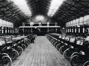 Model 'T' Cars at the Ford Factory at Trafford Park Near Manchester, 1914