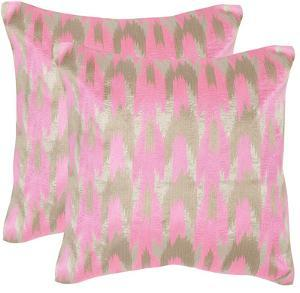 Modern Dazzle Pillow Pair - Pink
