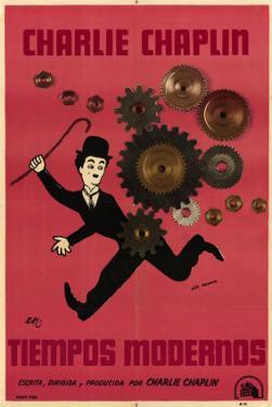 Modern Times, Argentine Movie Poster, 1936