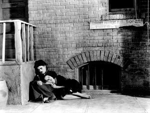 Modern Times, Charles Chaplin, Paulette Goddard, 1936