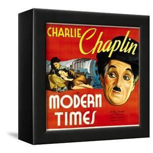 Modern Times, Charlie Chaplin, Paulette Goddard, 1936