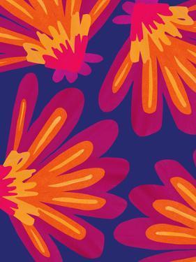Bold Folk Floral by Modern Tropical