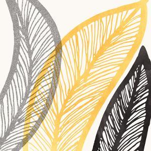 Bold Leaf Print by Modern Tropical
