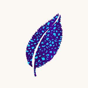 Indigo Leaf by Modern Tropical