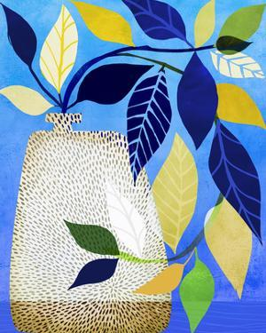Ivy And Blue Sky Ii by Modern Tropical